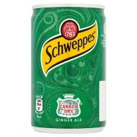 Schweppes / Швепс (0,15л*24шт) ж/б Ginger Ale